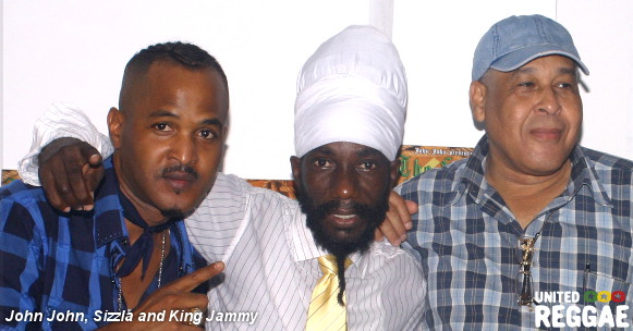 John john, Sizzla and King Jammy