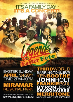 Legends Easter Fete