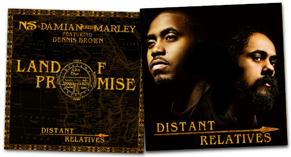 The nas and damian marley collaboration distant