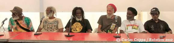 The Congos and The Wailing Souls at Rototom 2012