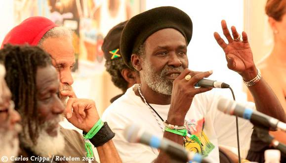 The Congos and The Wailing Souls at Rototom 2012