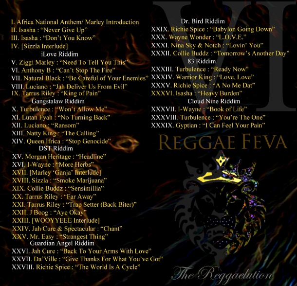 Reggaelution Mix