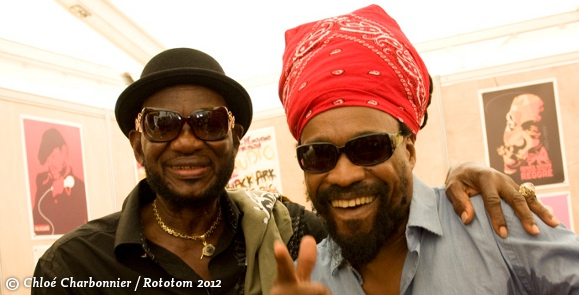 Niney and Michael Rose - Rototom 2012