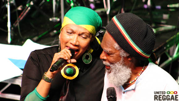 Respect Jamaica 50 - Bob Andy and Marcia Griffiths