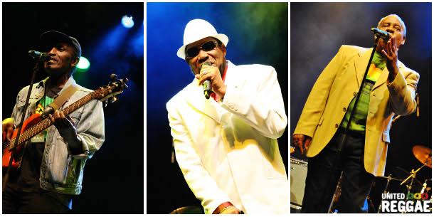 Respect Jamaica 50 - Lloyd Parks - Derrick Morgan - The Gaylads