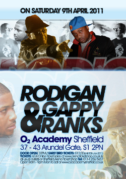 Rodigan and Gappy Ranks in Sheffield