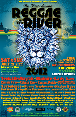 Reggae On The River 2012