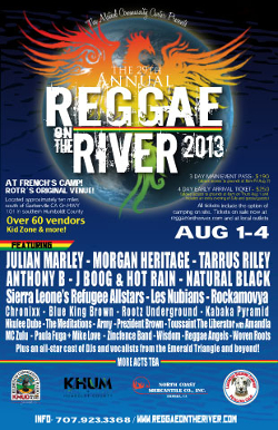 Reggae On The River 2013
