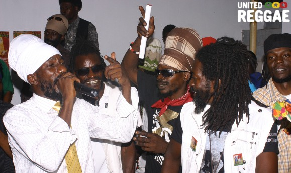 Sizzla launch party