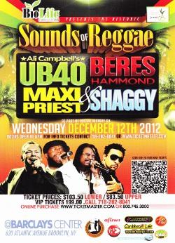 Sounds Of Reggae / New York