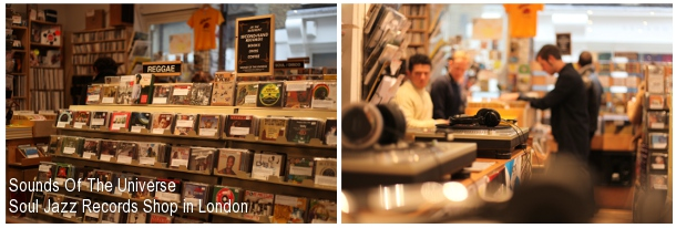 Sound Of The Universe, Soul Jazz Records Shop