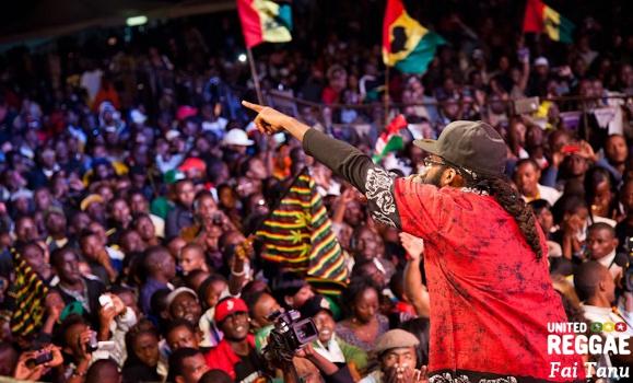Tarrus Riley in Kenya