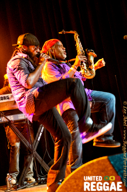 Tarrus Riley and Dean Fraser in San Francisco