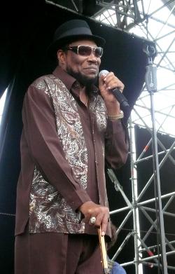 Derrick Morgan - Upper Park Reggae Festival 2011