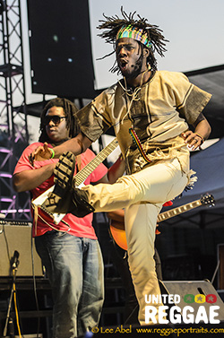 Chronixx at Reggae On The River Festival